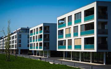 WEG Verwaltung: Modernes Mehrfamilienhaus